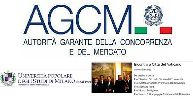 AGCM verso Università Popolare degli Studi di Milano
