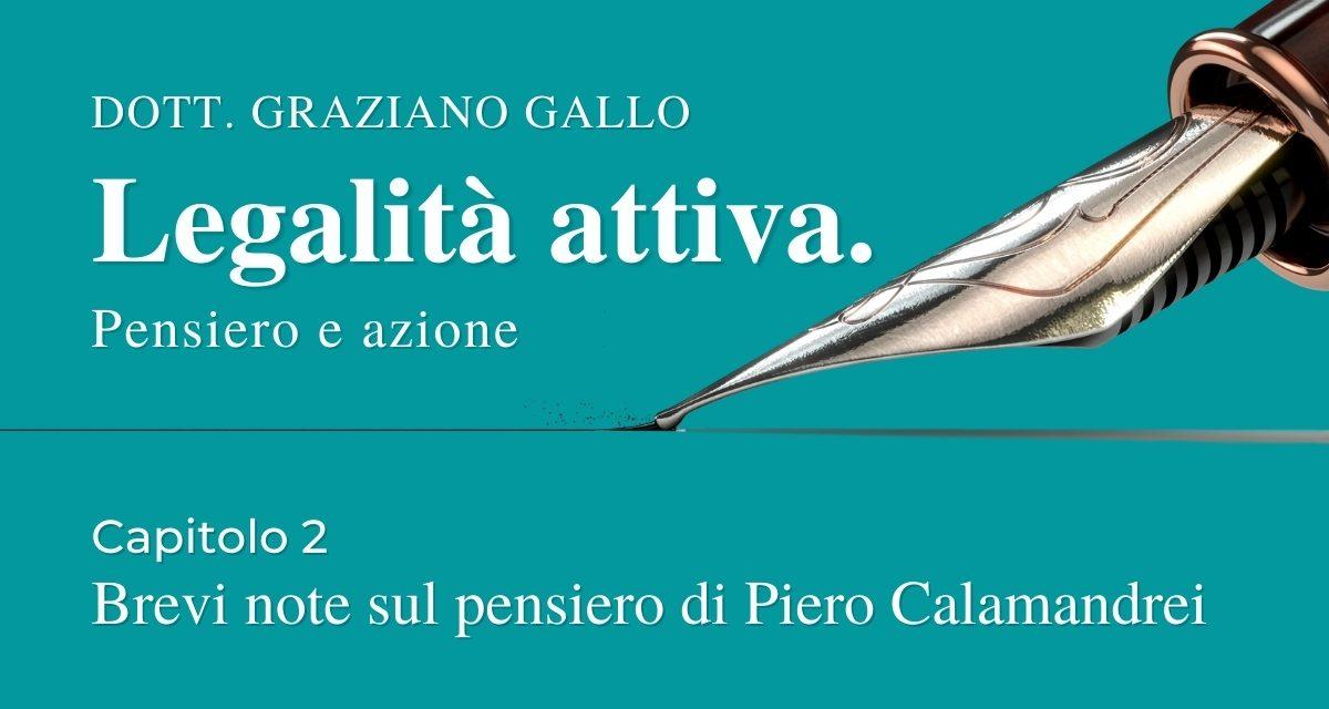 Brevi note sul pensiero di Piero Calamandrei | Capitolo 2