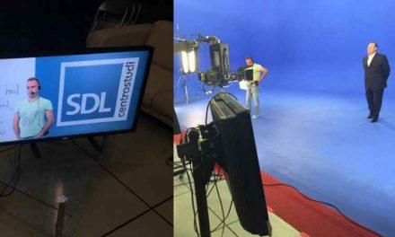 Il caso SDL Centrostudi, pubblicità programma Caduta Libera