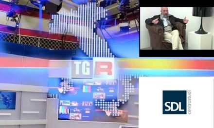 SDL Centrostudi e Giovanni Pastore al TGR Emilia Romagna