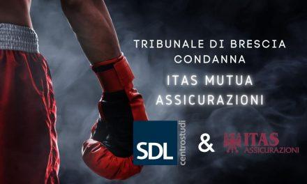 Tribunale Brescia condanna ITAS Mutua Assicurazioni.