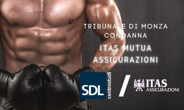 Tribunale di Monza condanna ITAS MUTUA, contratto GOLD-SDL